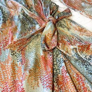 BCBGMaxAzria Dresses - BCBGMaxAzria Colorful Wrap Dress size-small